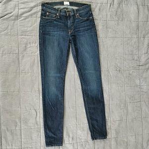 Hudson Nico midrise skinny jeans, size 27